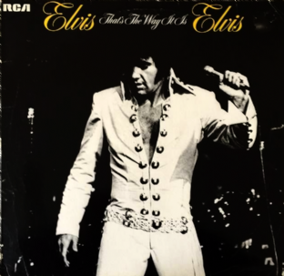 Elvis Presley - That's The Way It Is (LP) (G/F++)